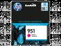 Картридж струйный HP №951 CN051AE пурпурный для HP Officejet Pro 8610/8620 e-All-in-One (700стр.)